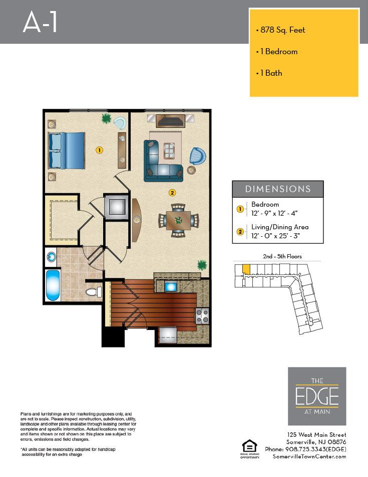 A-1 Floor Plan