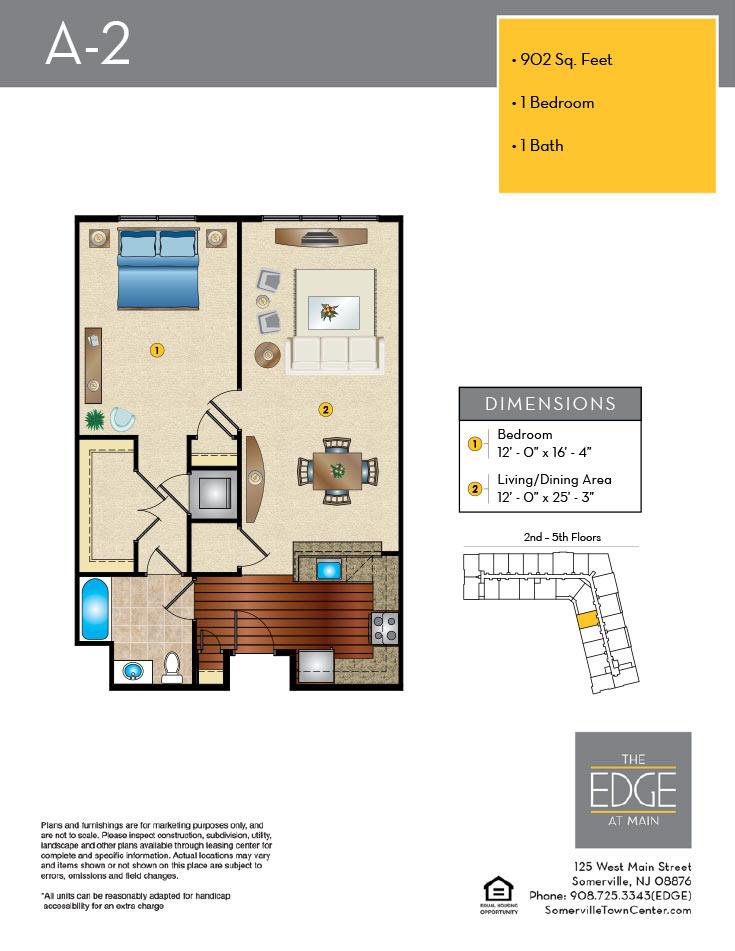 A-2 Floor Plan