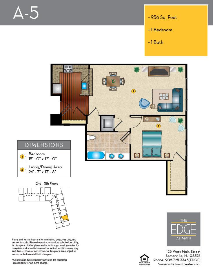 A-5 Floor Plan