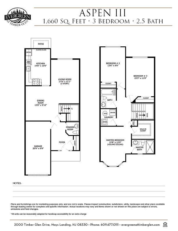 Aspen III Floor Plan