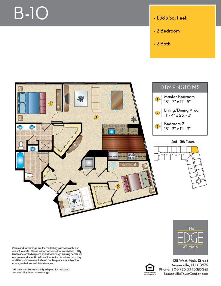 B-10 Floor Plan
