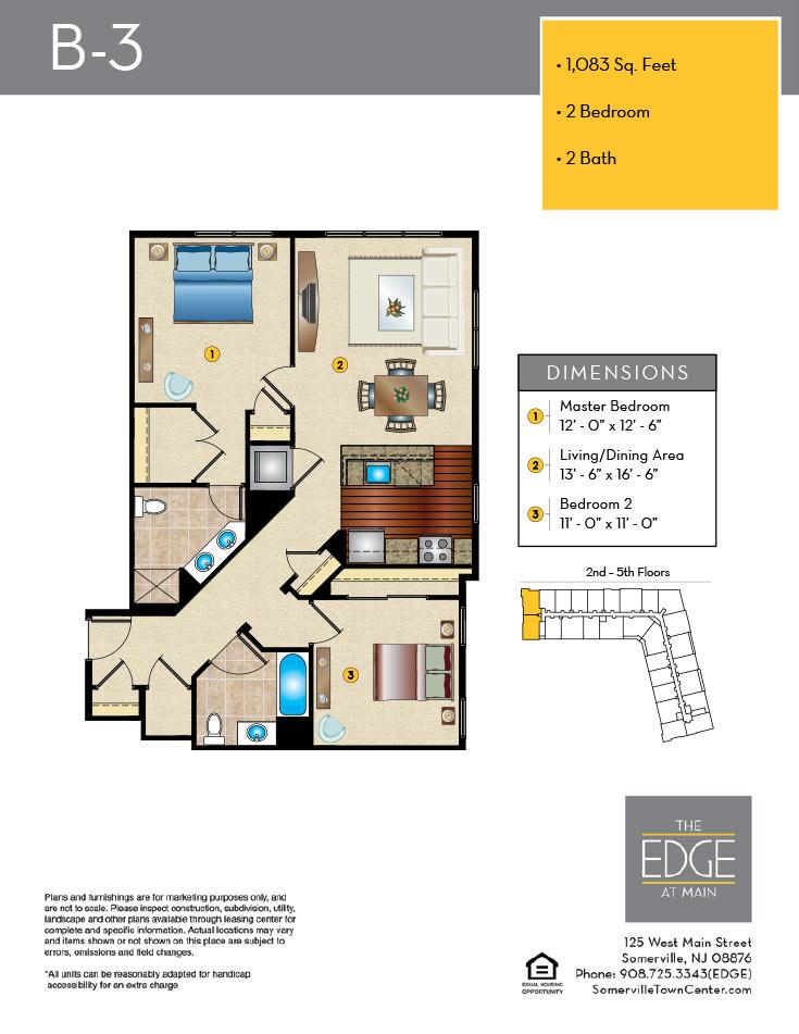 B-3 Floor Plan