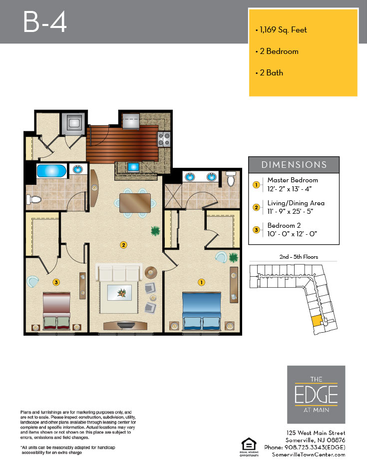B-4 Floor Plan