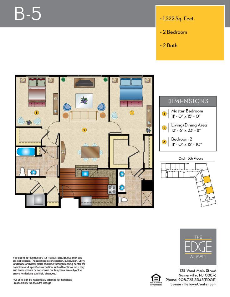 B-5 Floor Plan