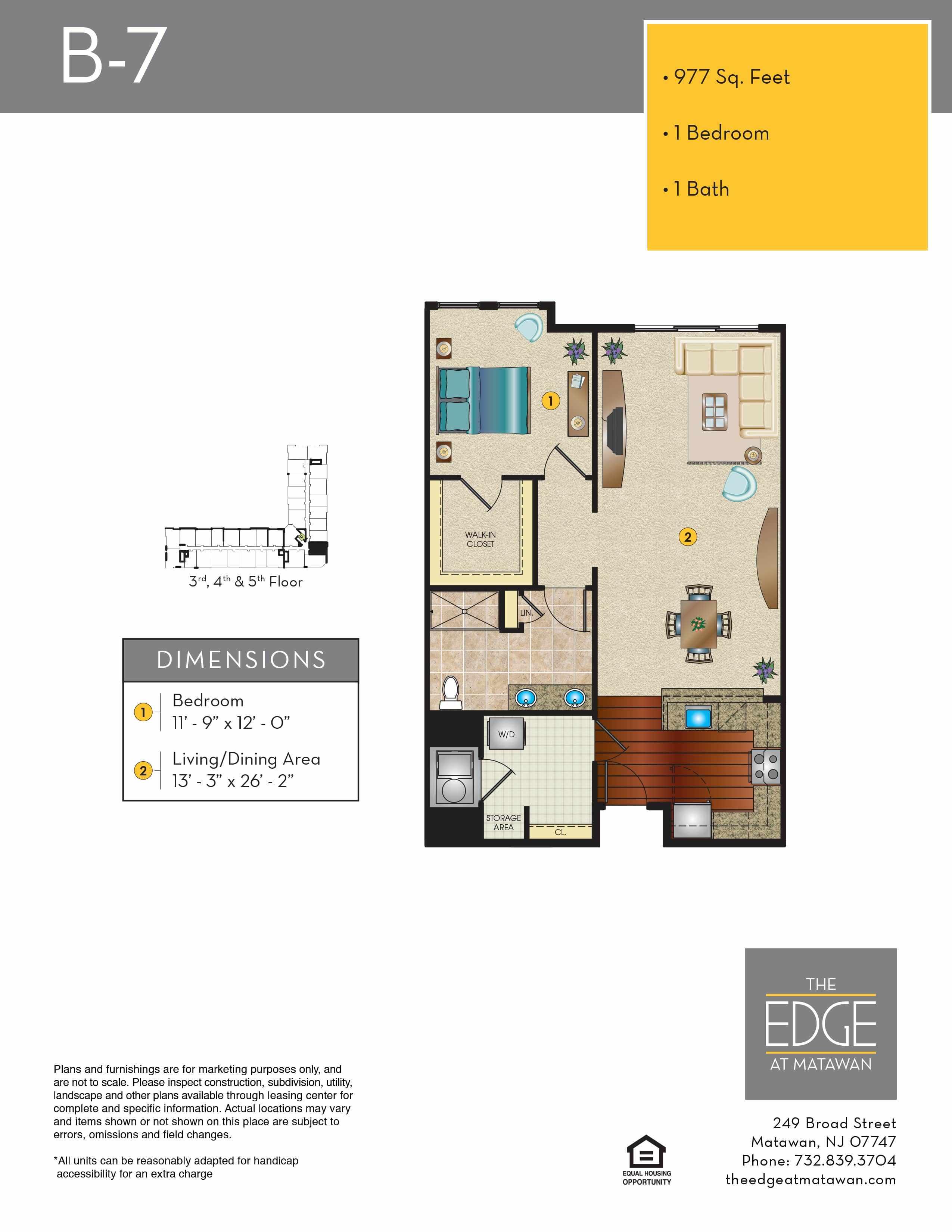B7 Floor Plan