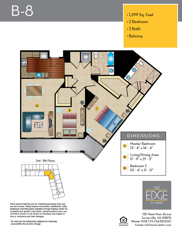 B-8 Floor Plan
