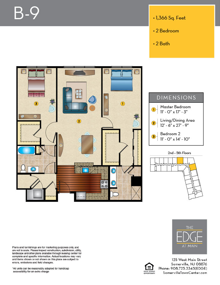 B-9 Floor Plan