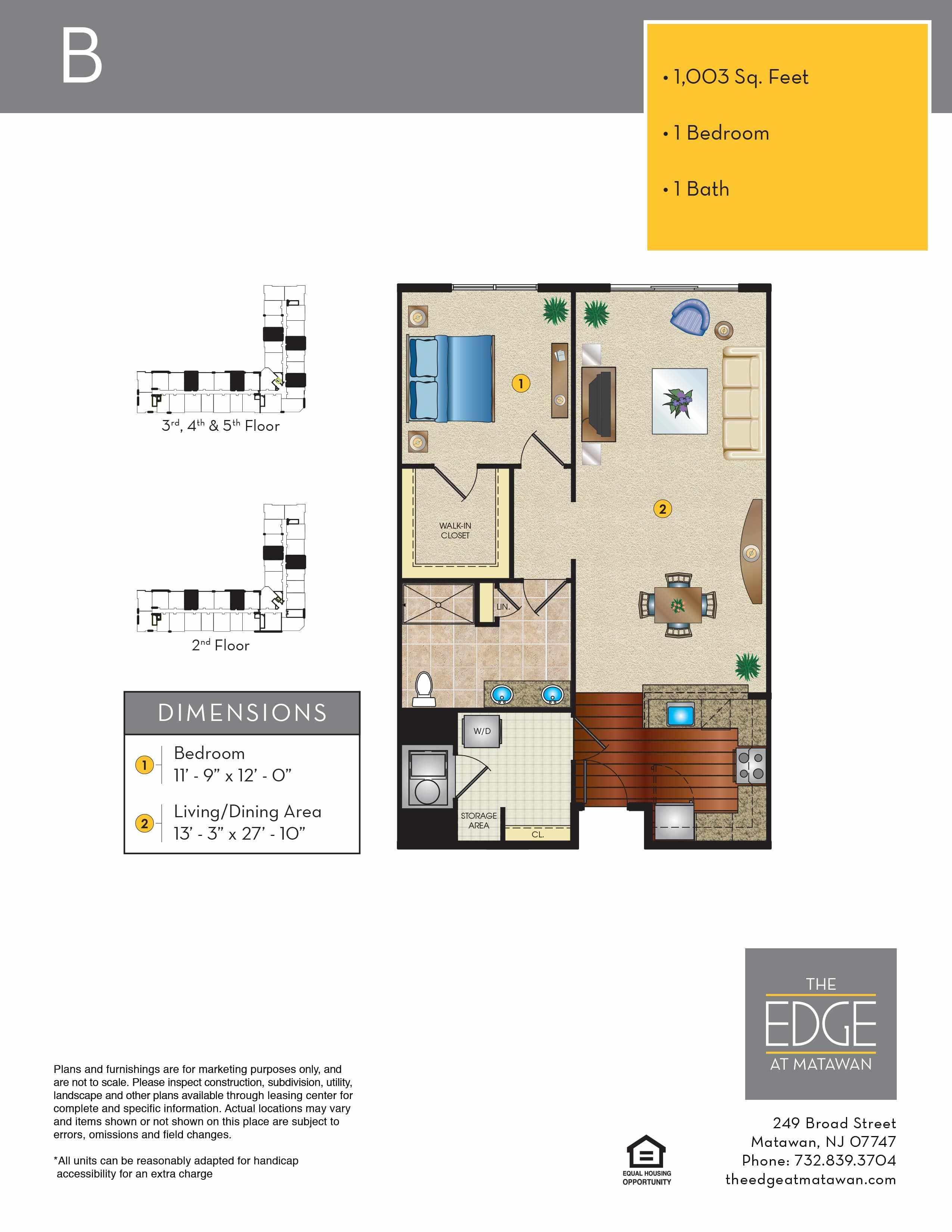 B Floor Plan
