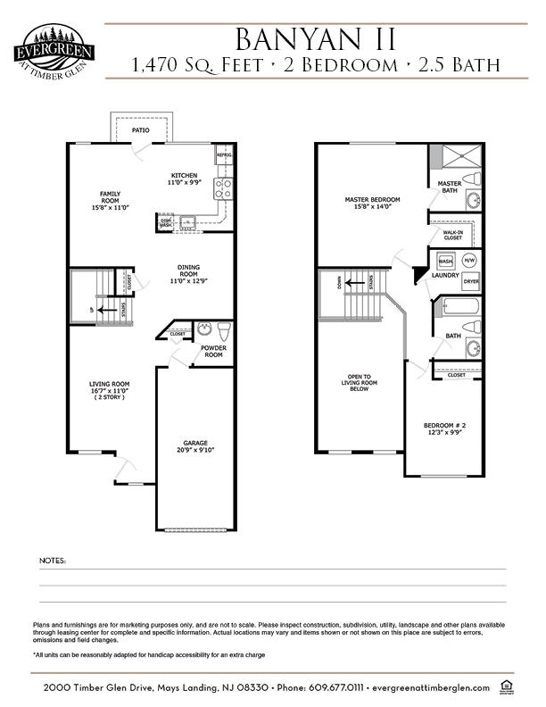 Banyan II Floor Plan