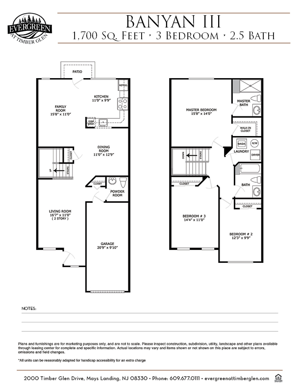 Banyan III Floor Plan