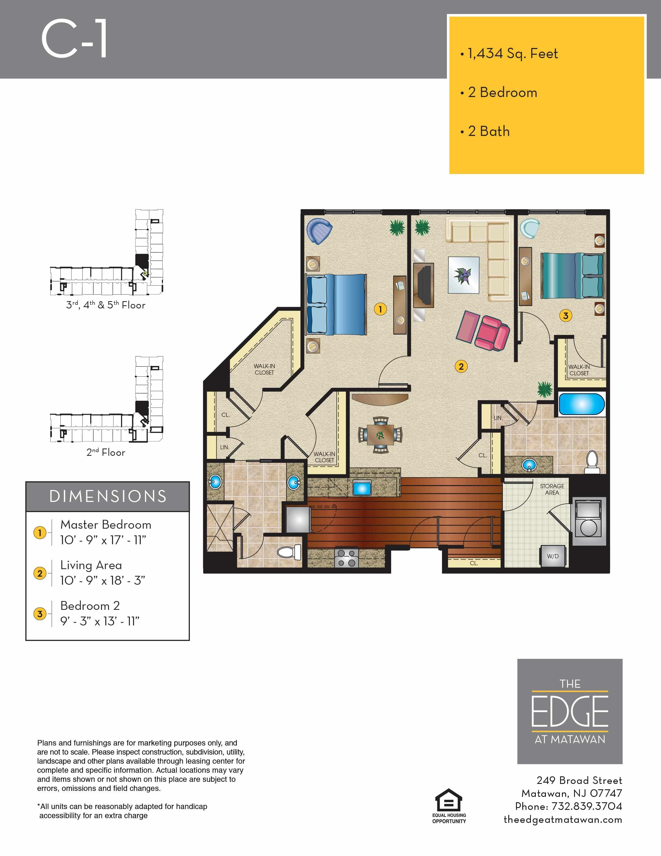 C-1 Floor Plan