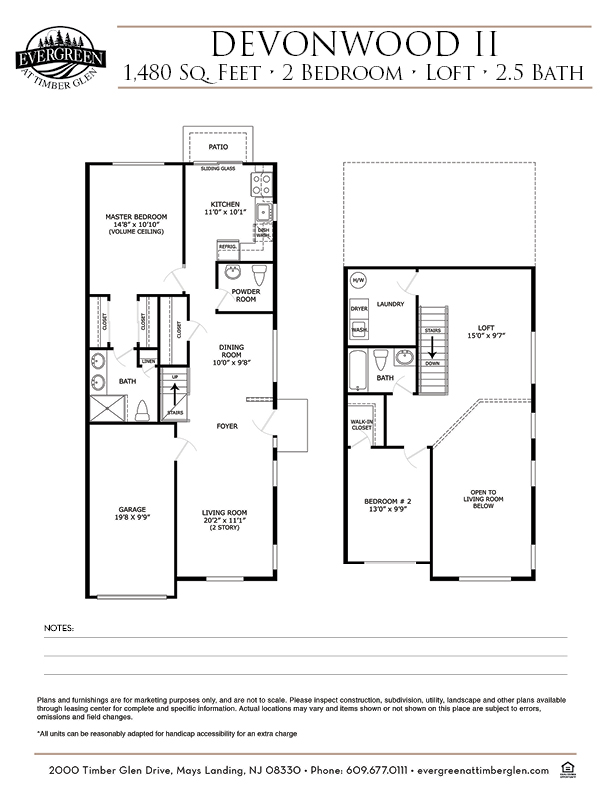 Devonwood II Floor Plan