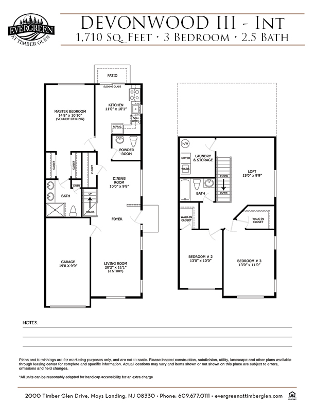 Devonwood III (Int) Floor Plan