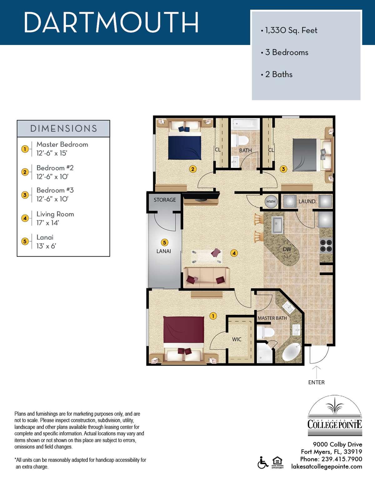 The Dartmouth Floor Plan