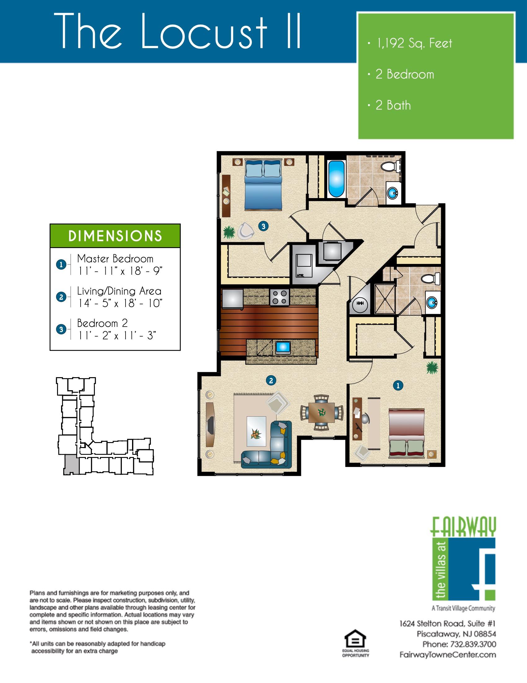 The Locust II Floor Plan