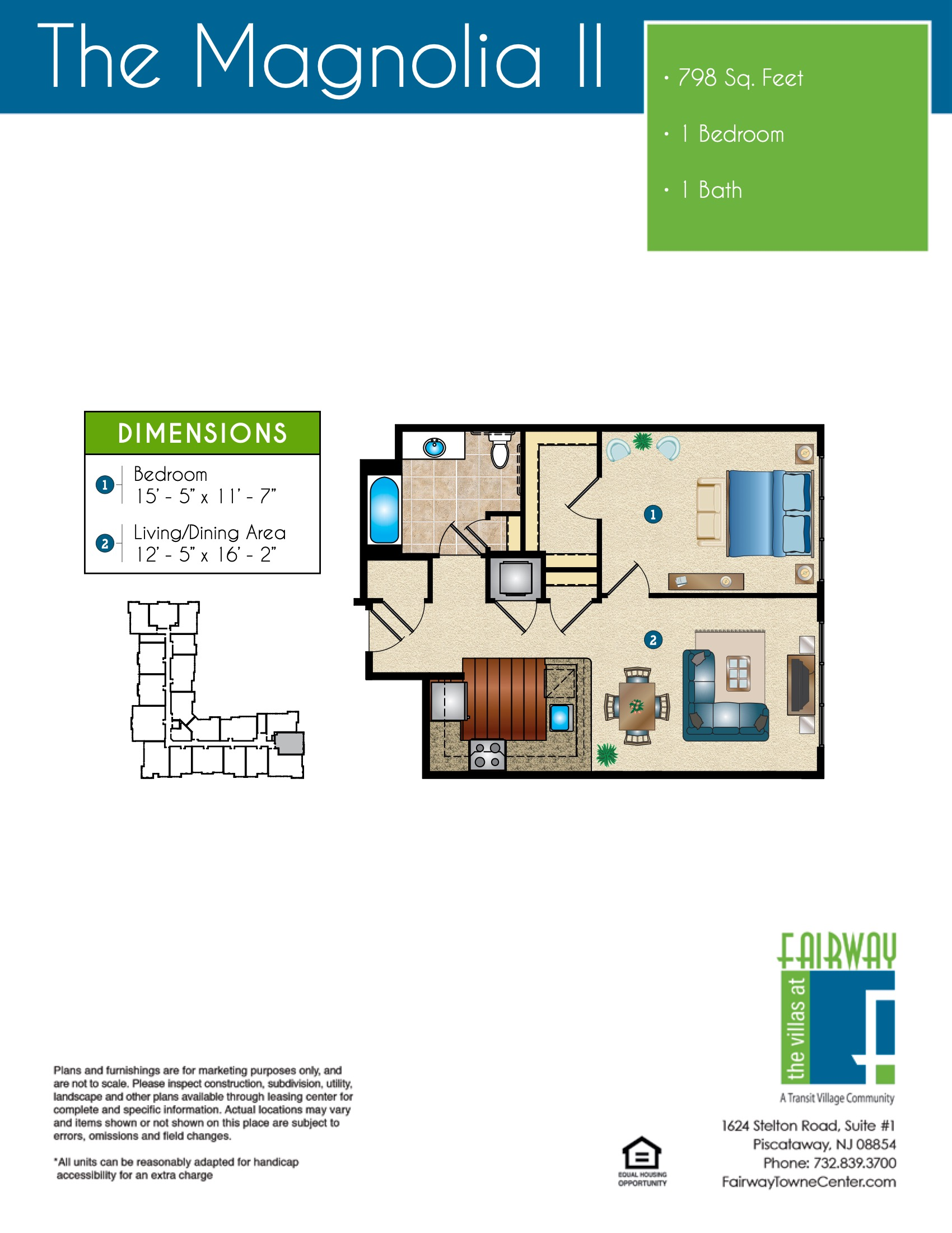 The Magnolia II Floor Plan