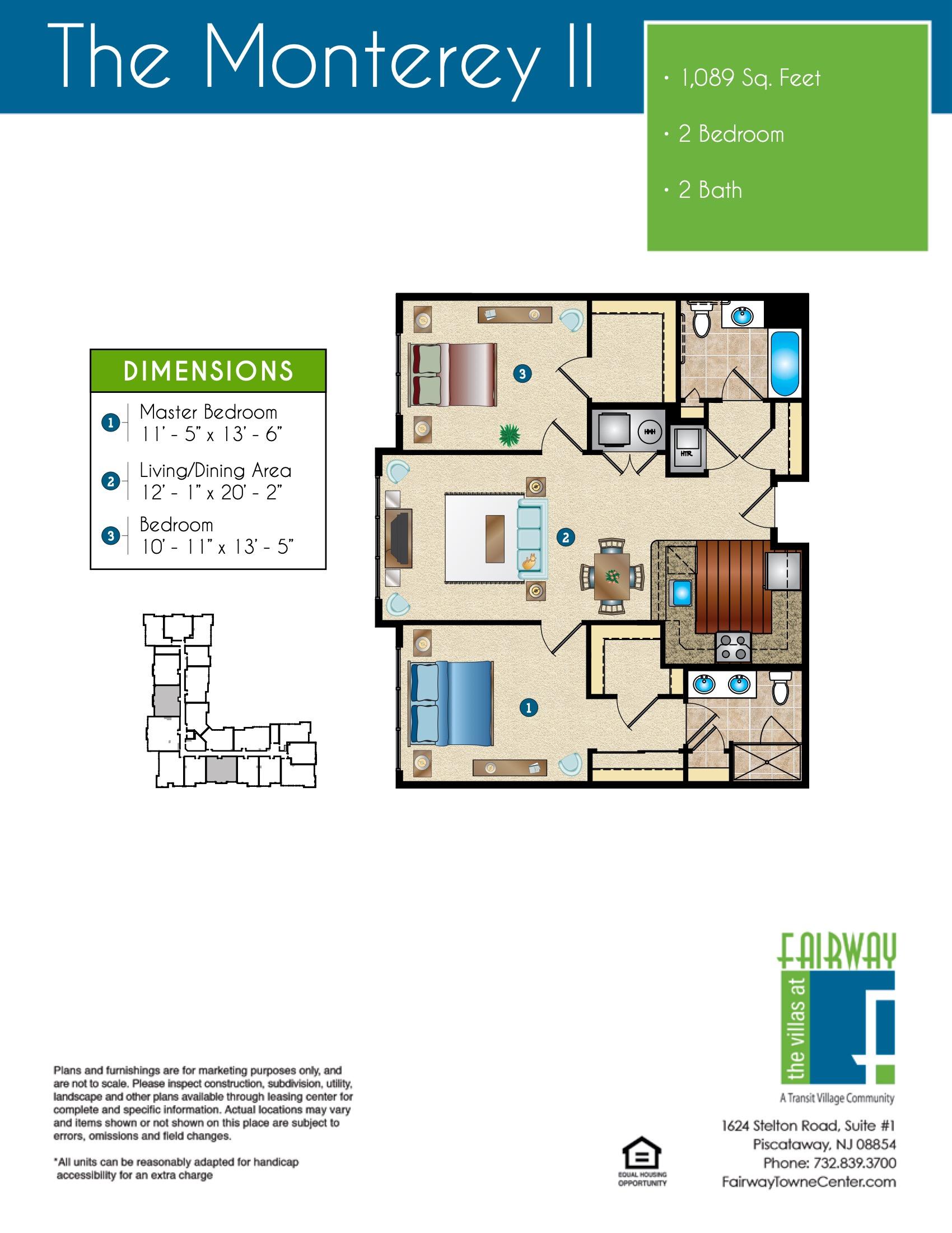 The Monterey II Floor Plan