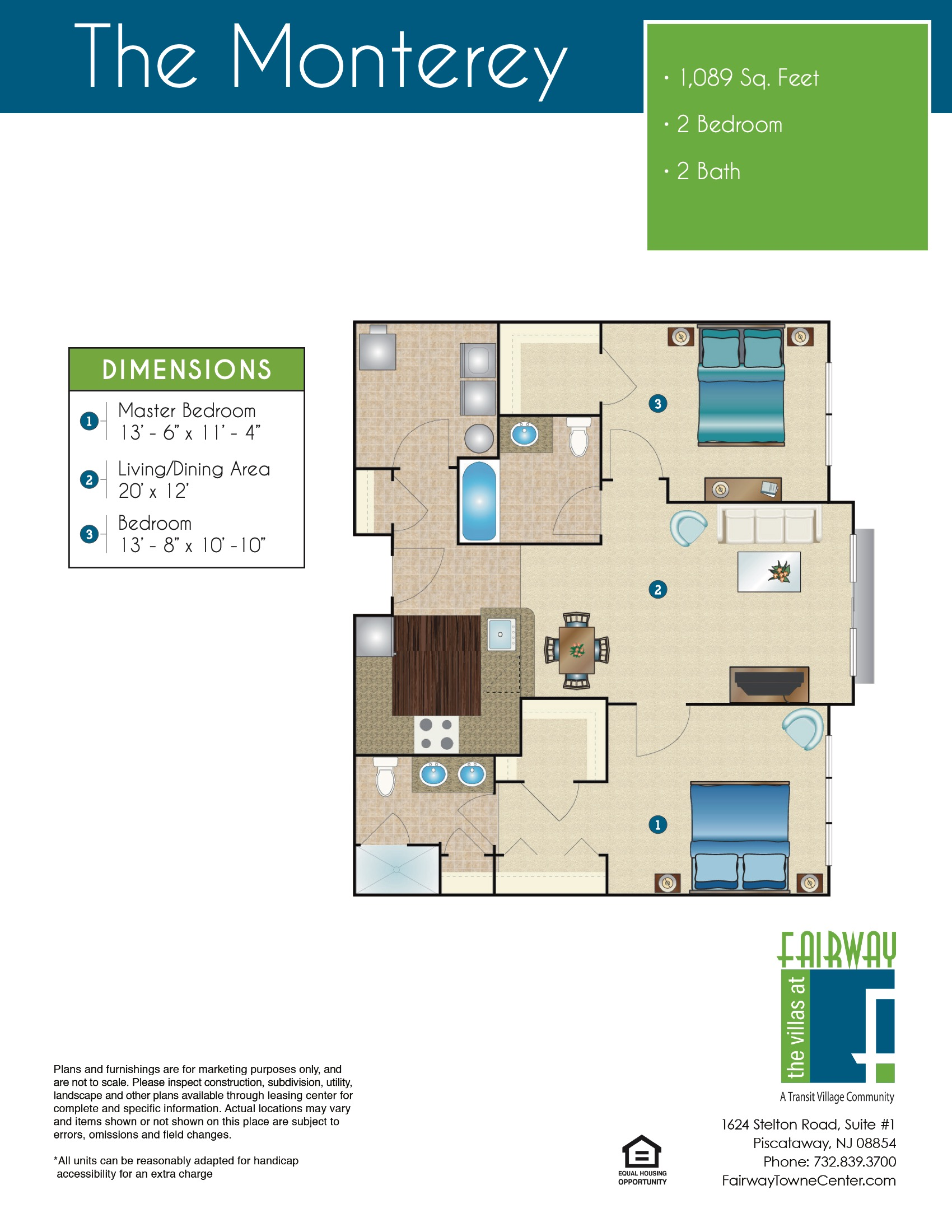 The Monterey Floor Plan