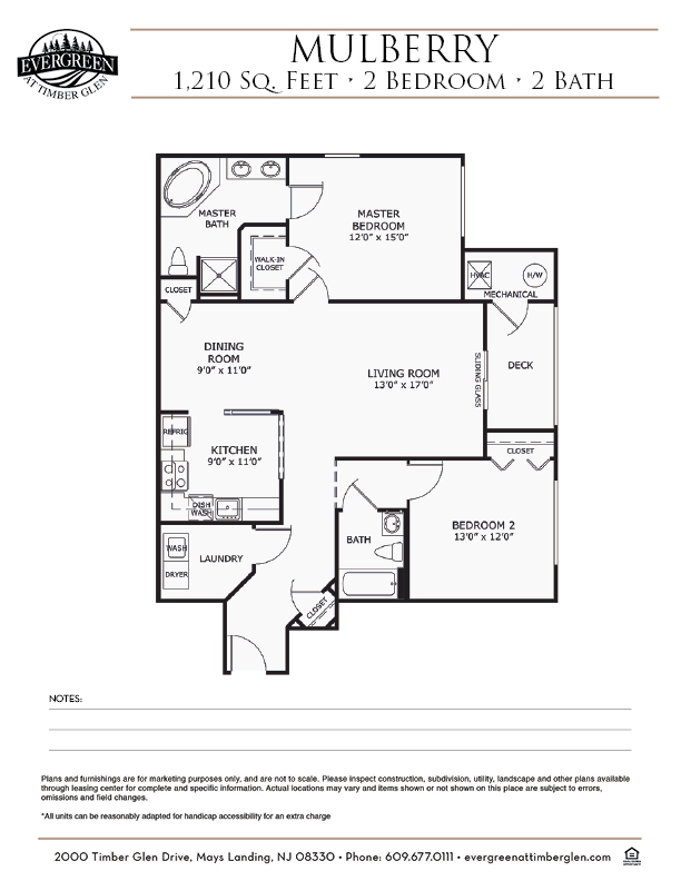 Mulberry Floor Plan