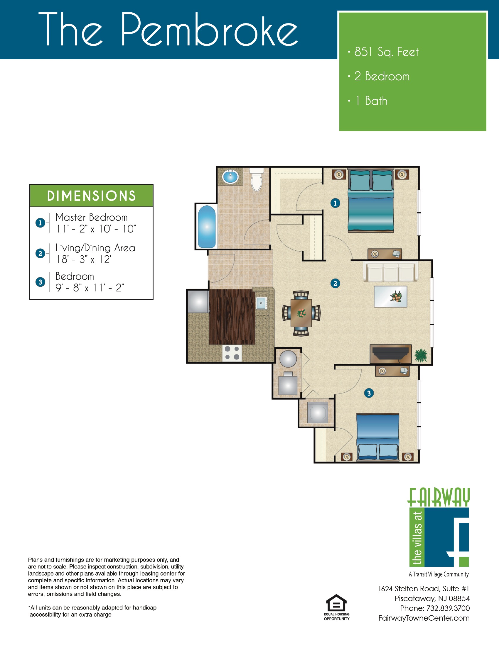 The Pembroke Floor Plan