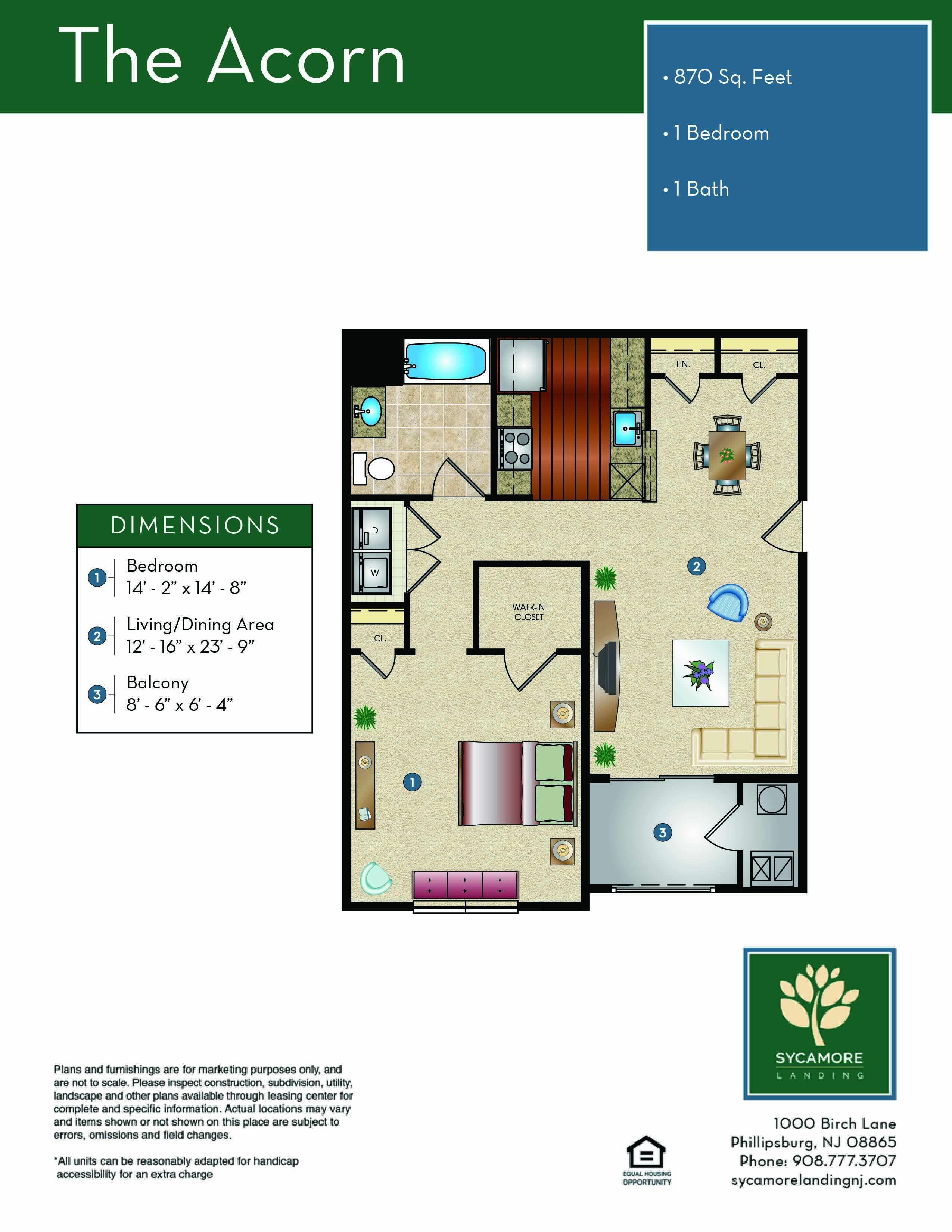 The Acorn Floor Plan
