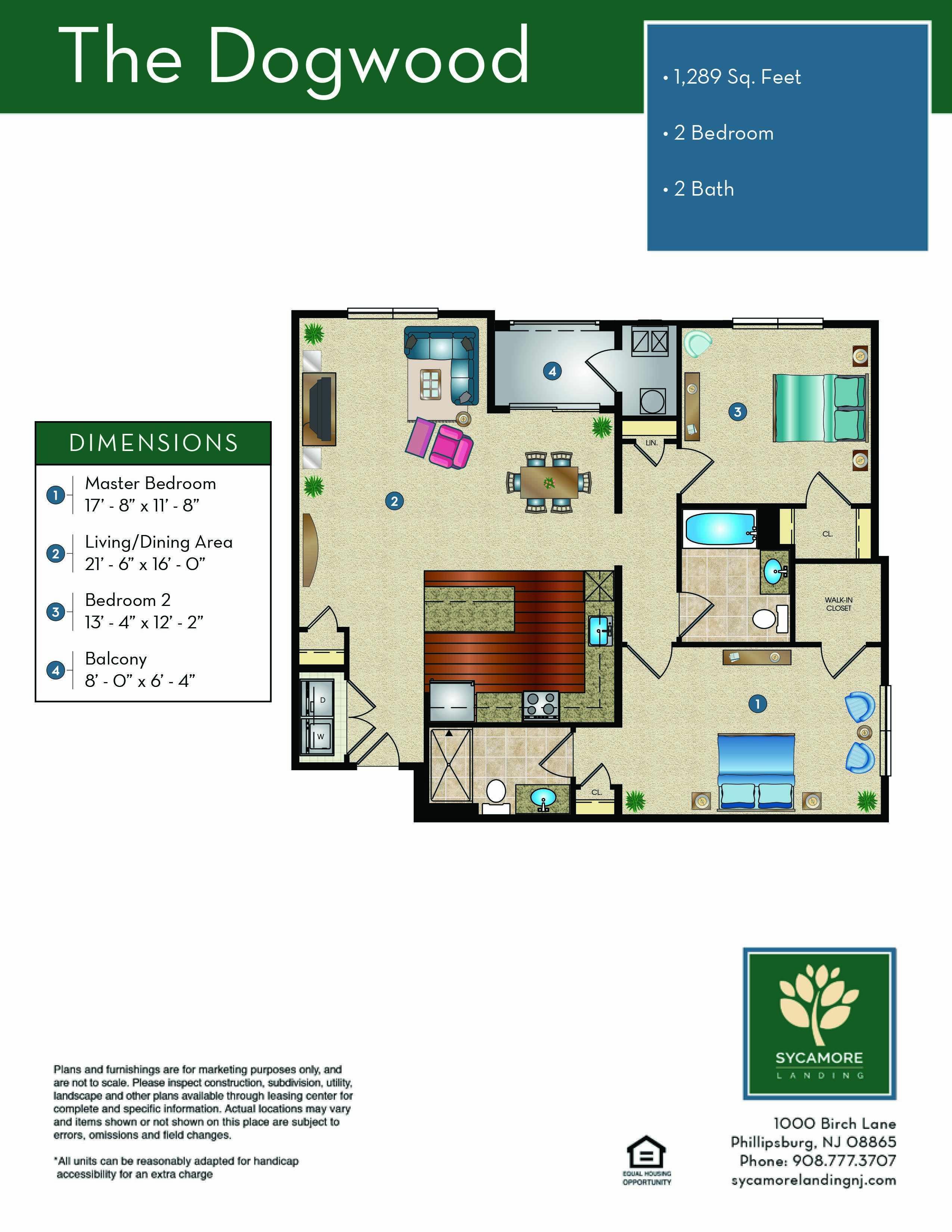 The Dogwood Floor Plan