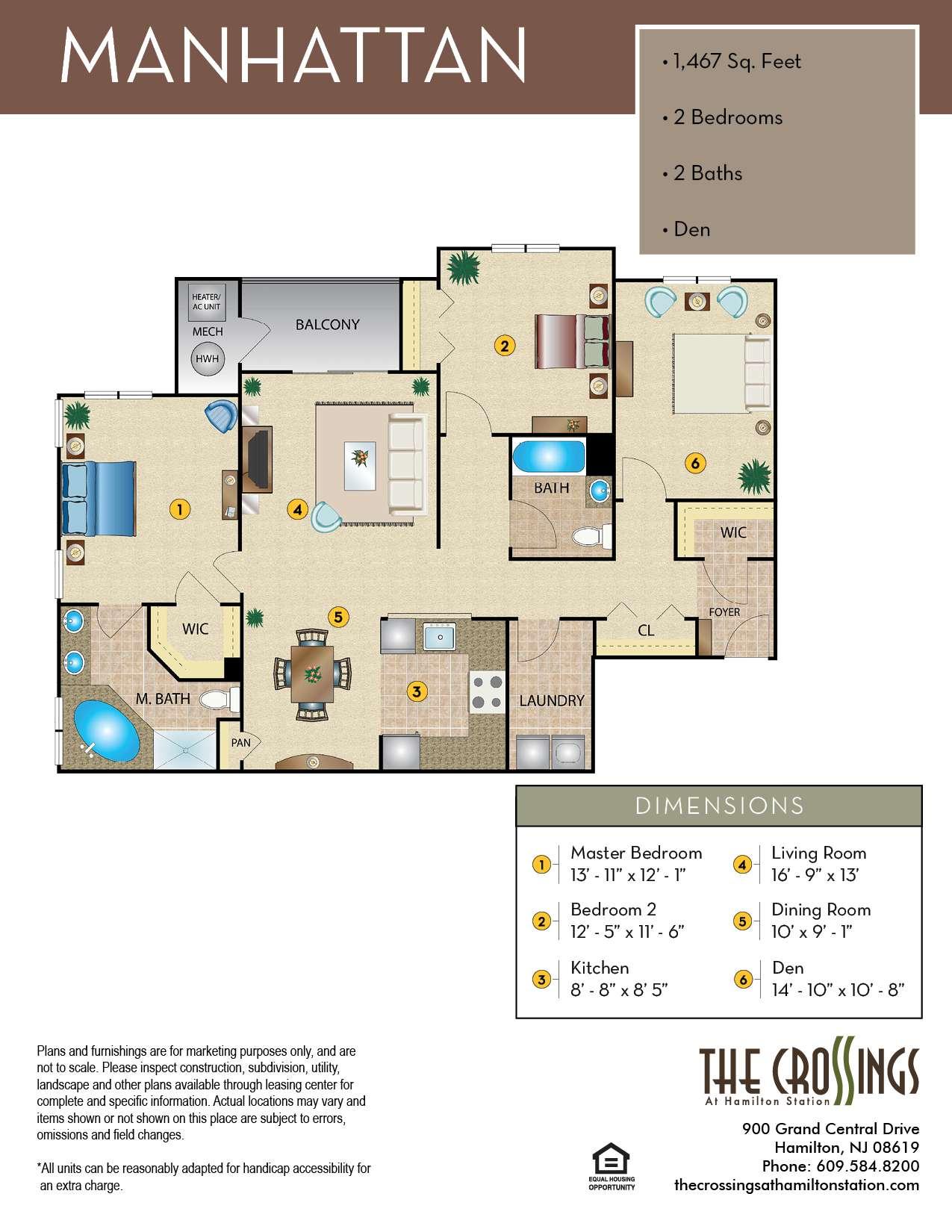 The Manhattan Floor Plan
