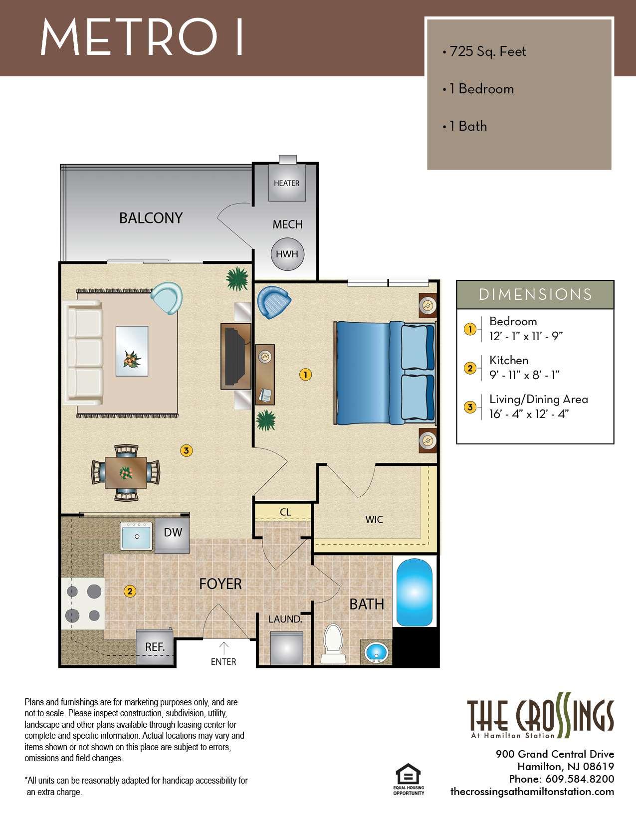 Metro I Floor Plan