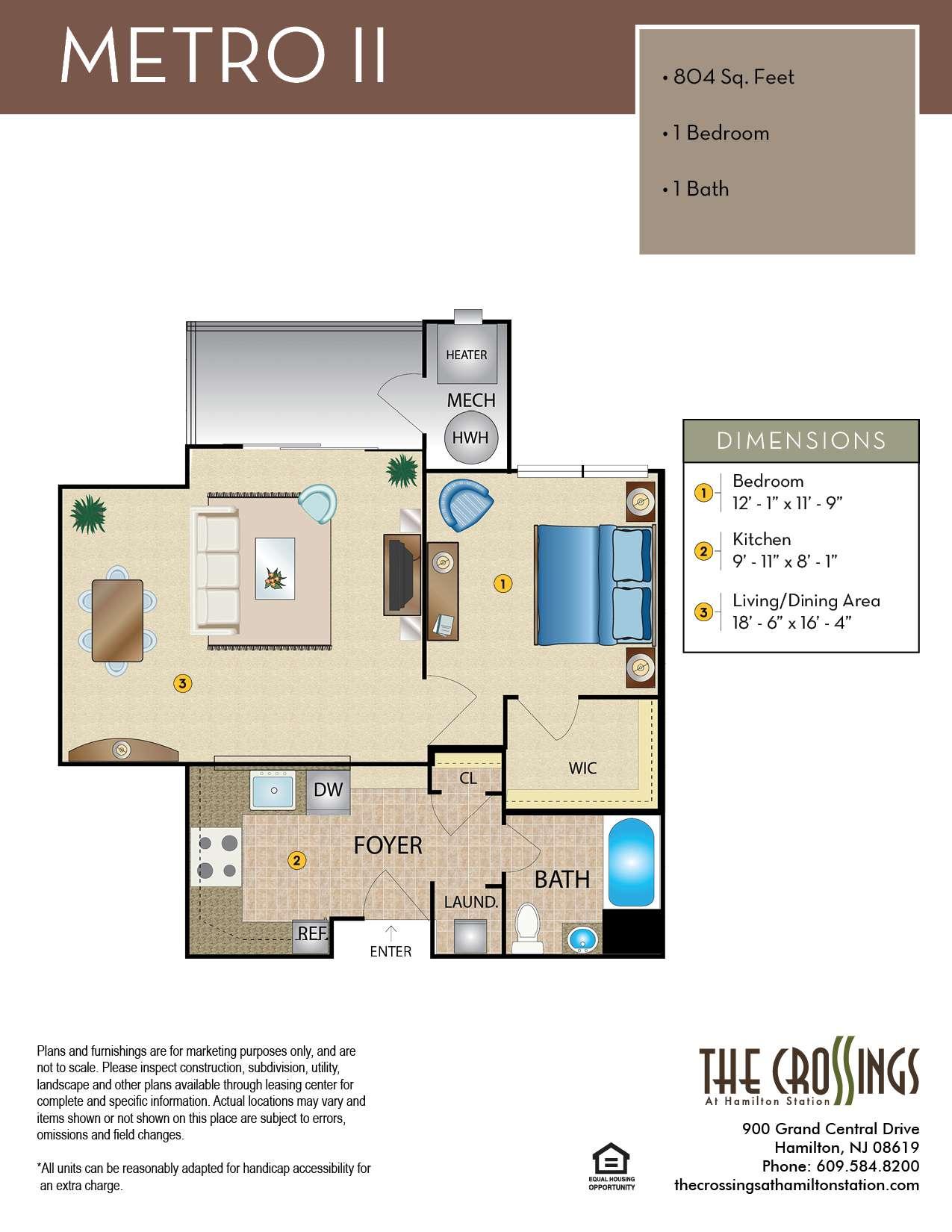 Metro II Floor Plan