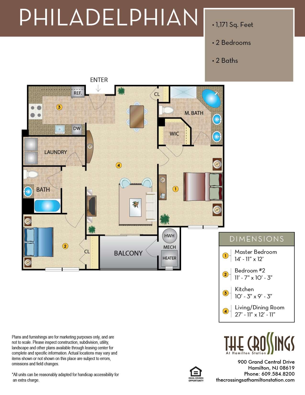 The Philadelphian Floor Plan