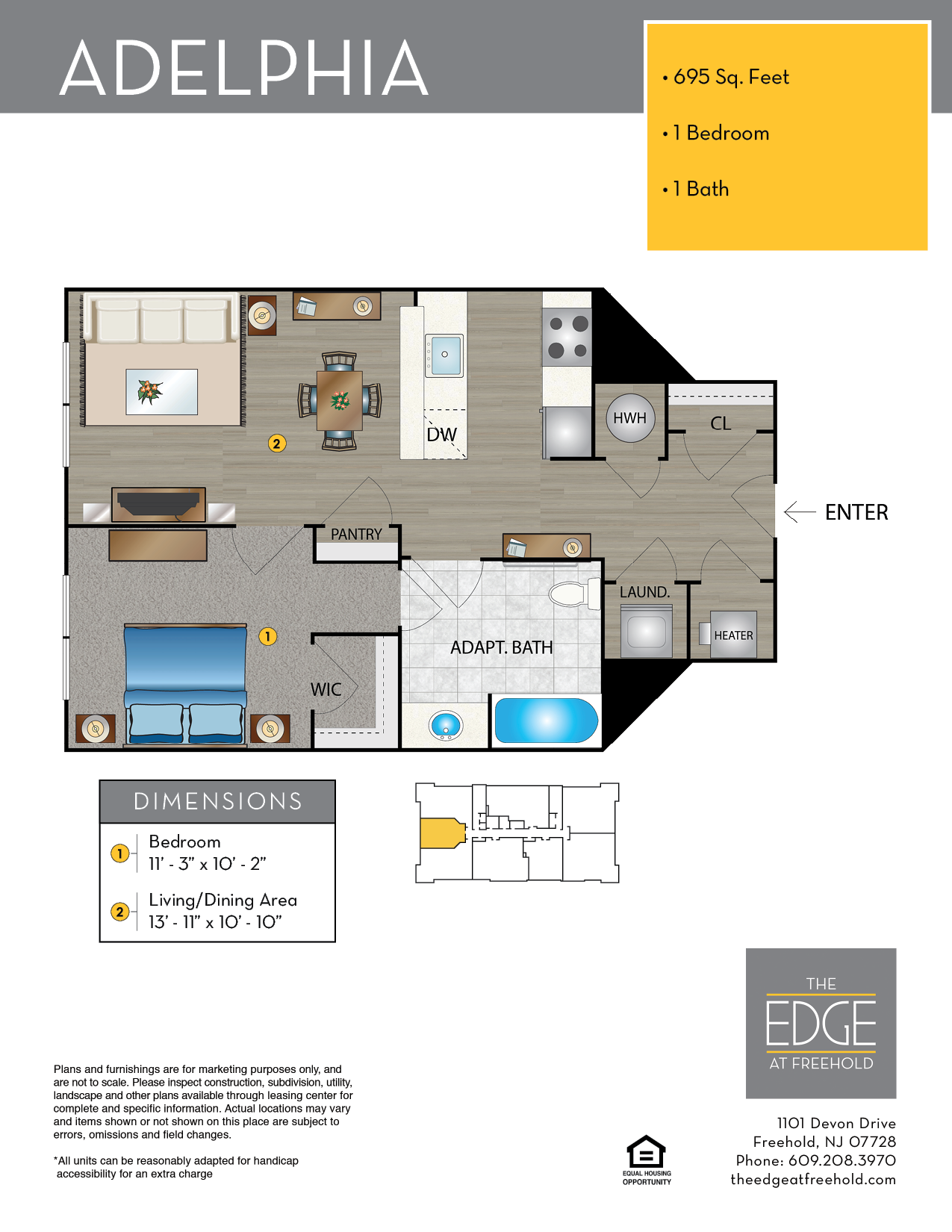 Adelphia Floor Plan
