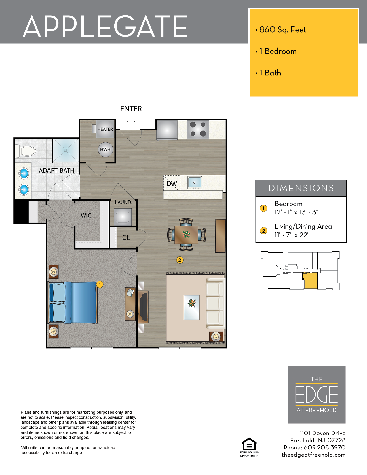 Applegate Floor Plan