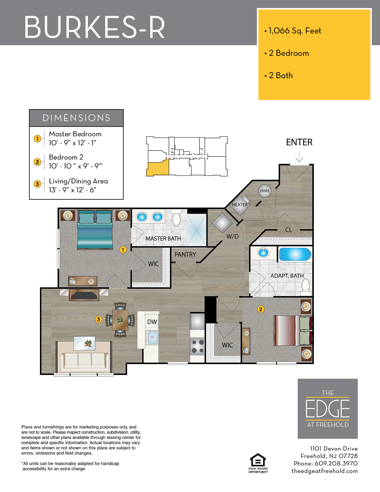 Burkes-R Floor Plan