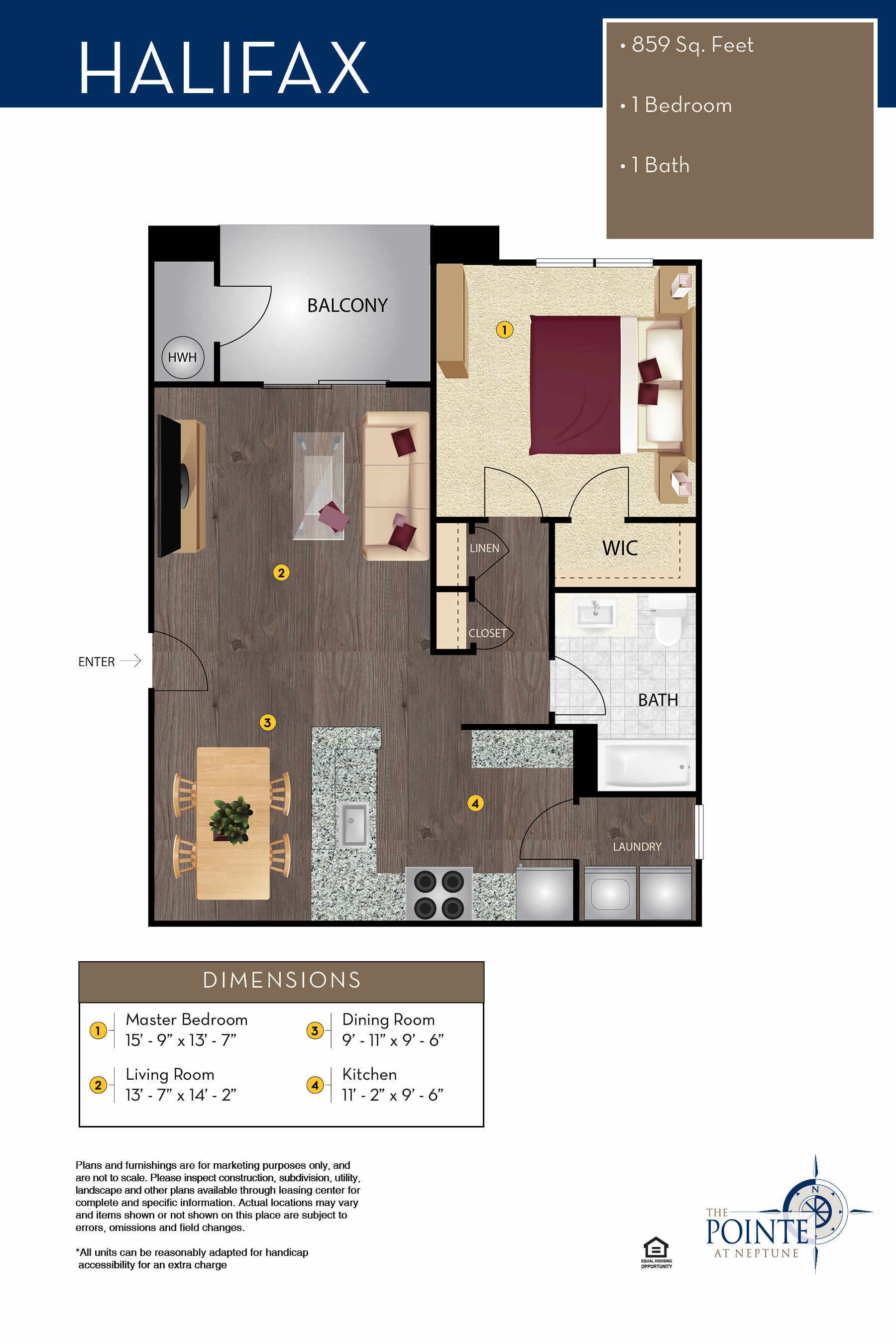 The Halifax Floor Plan