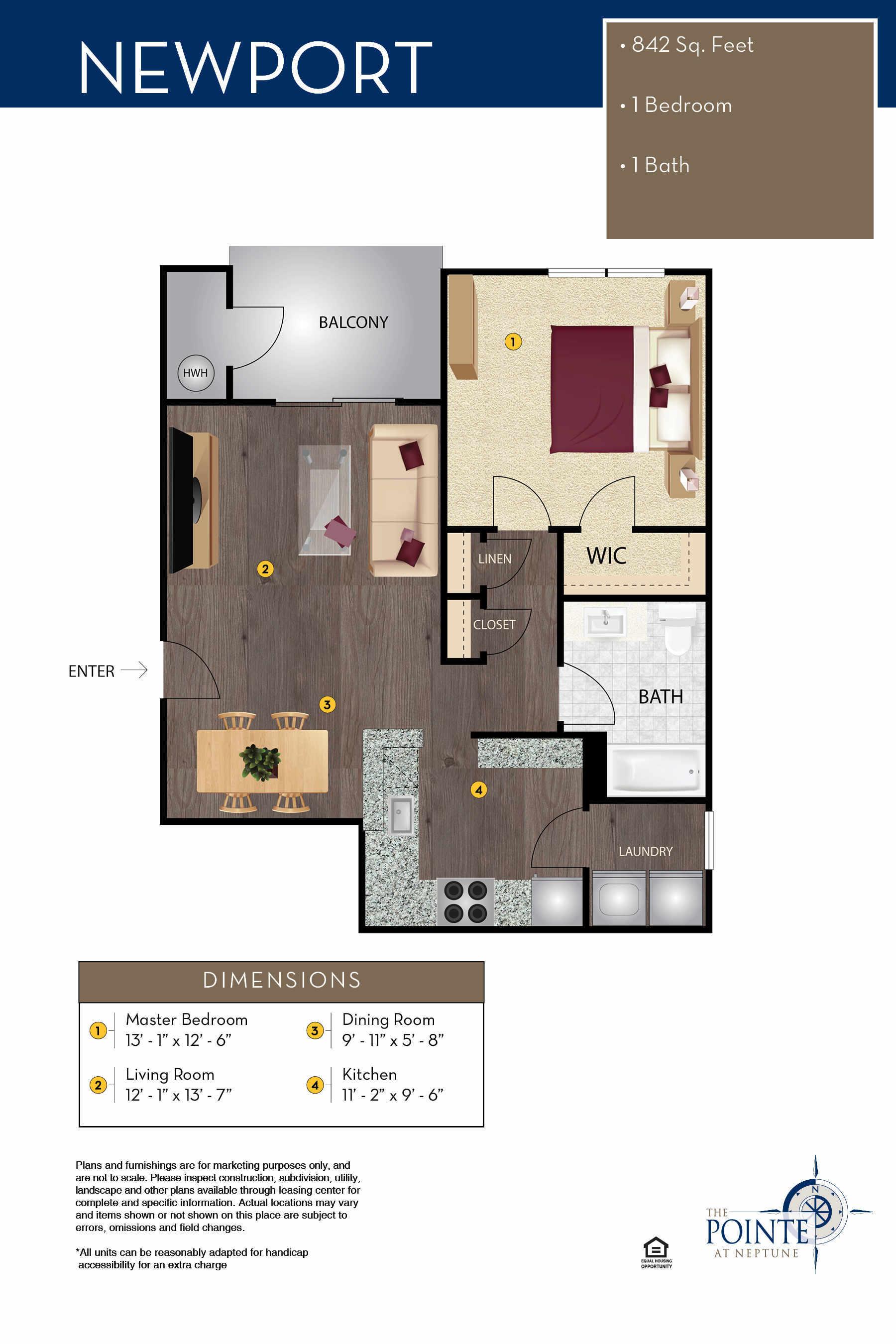 The Newport Floor Plan