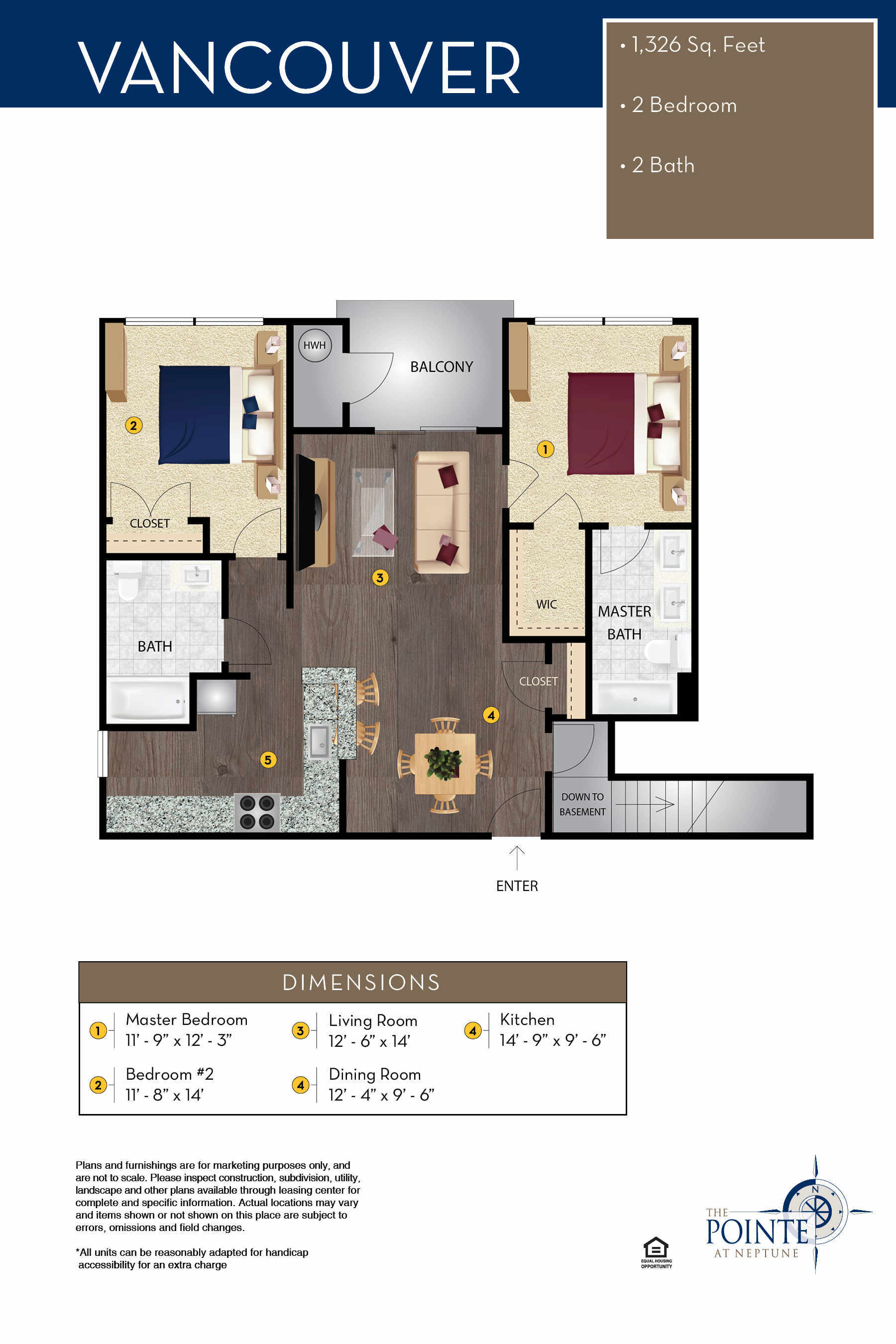 The Vancouver Floor Plan