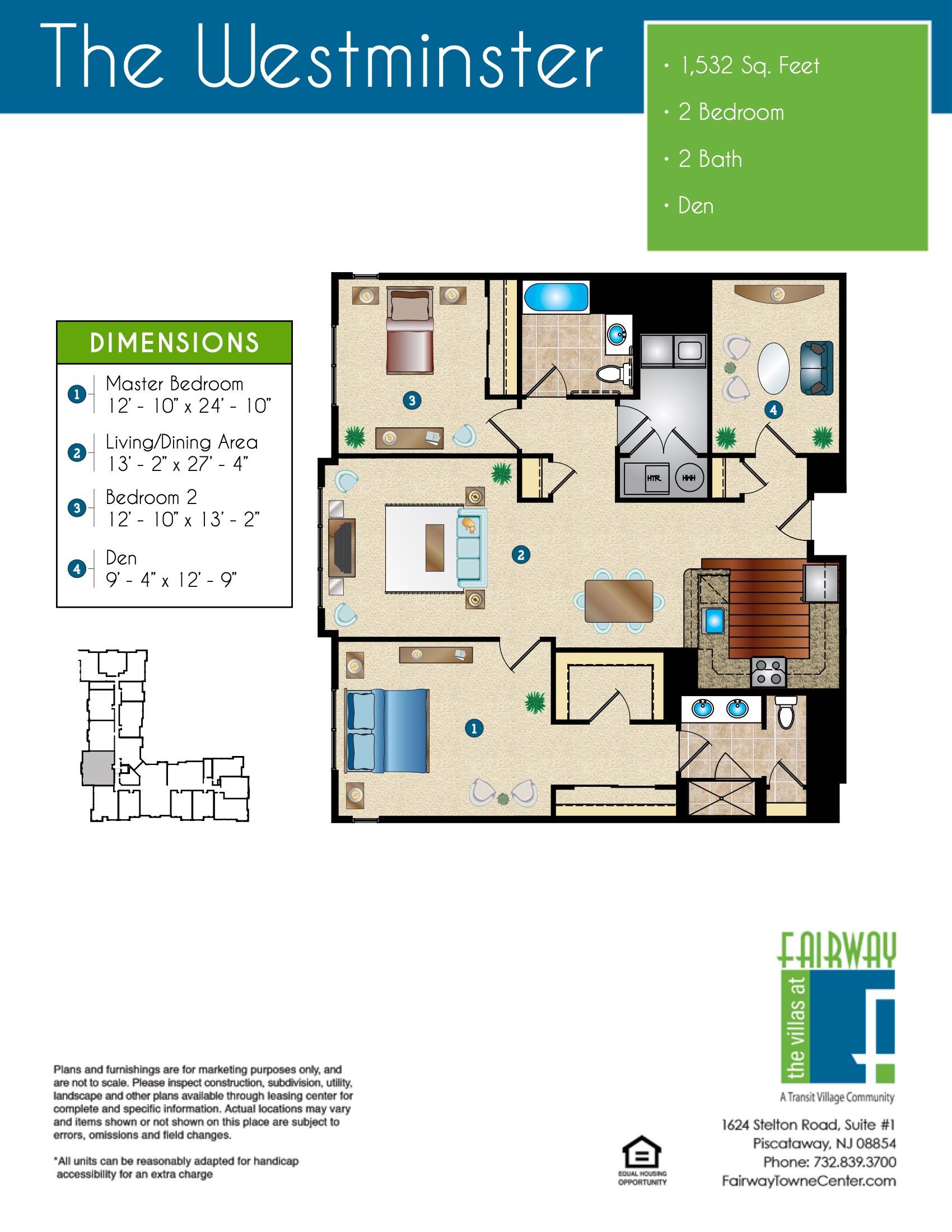 The Westminster Floor Plan