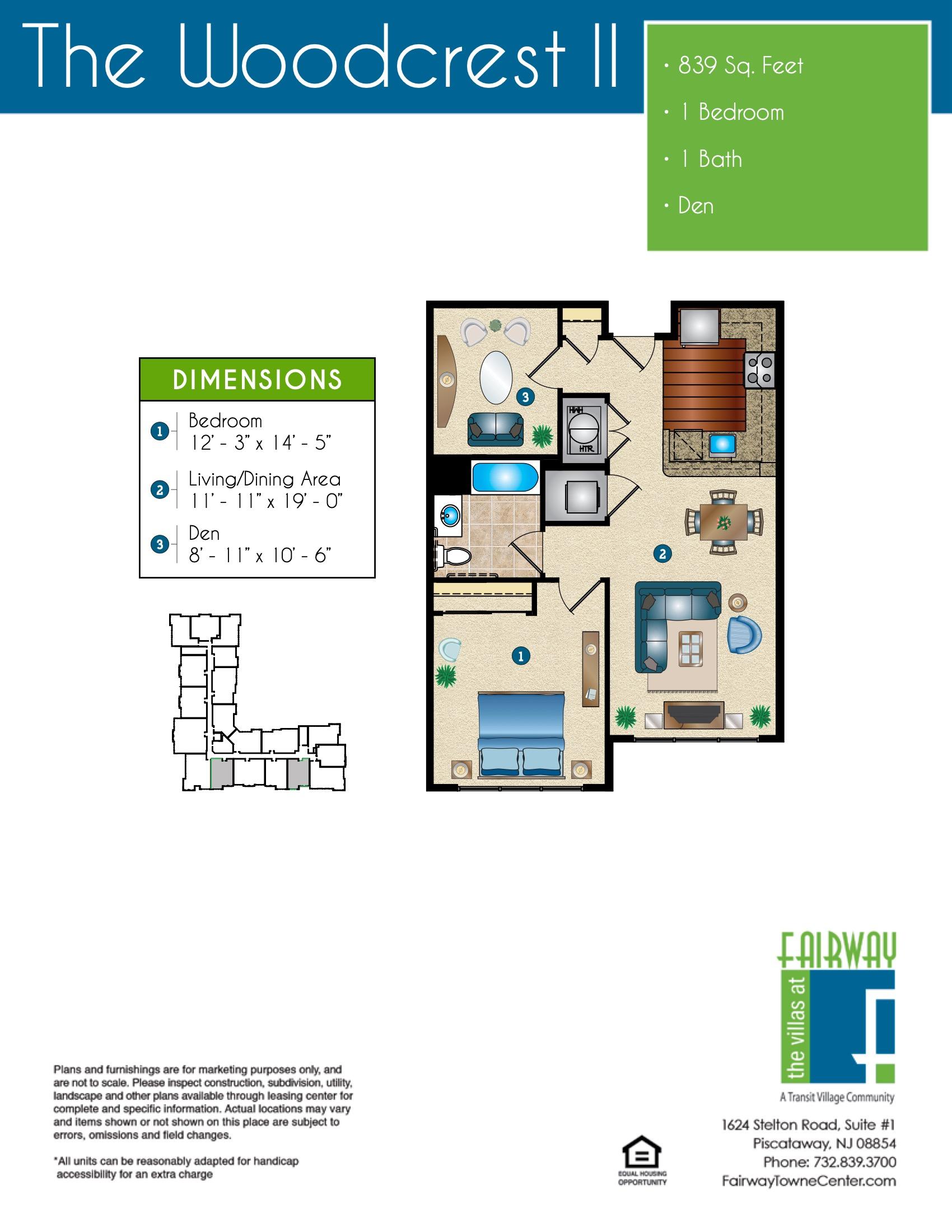 The Woodcrest II Floor Plan