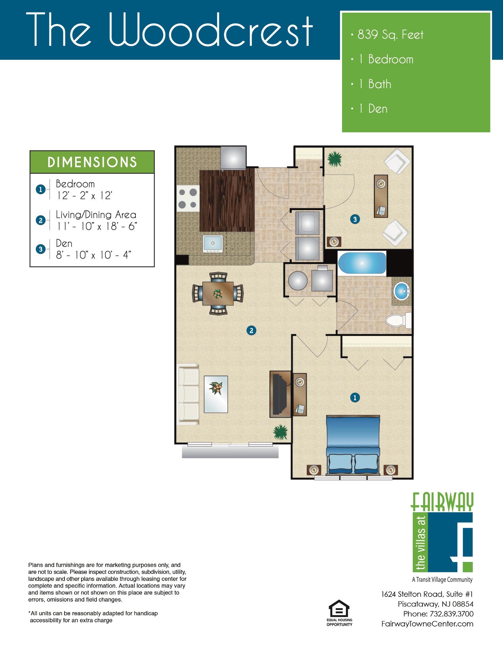 The Woodcrest Floor Plan