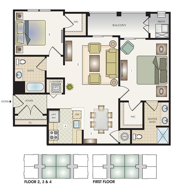 The Carolina Floor Plan