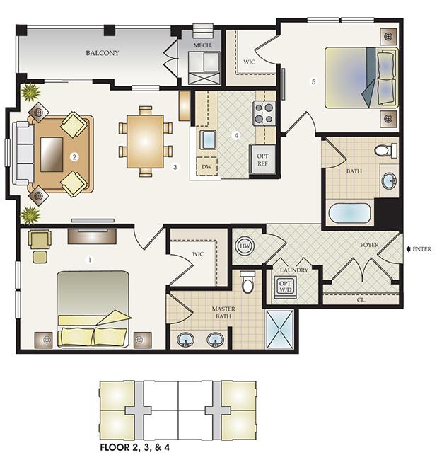 The Celebrations II Floor Plan
