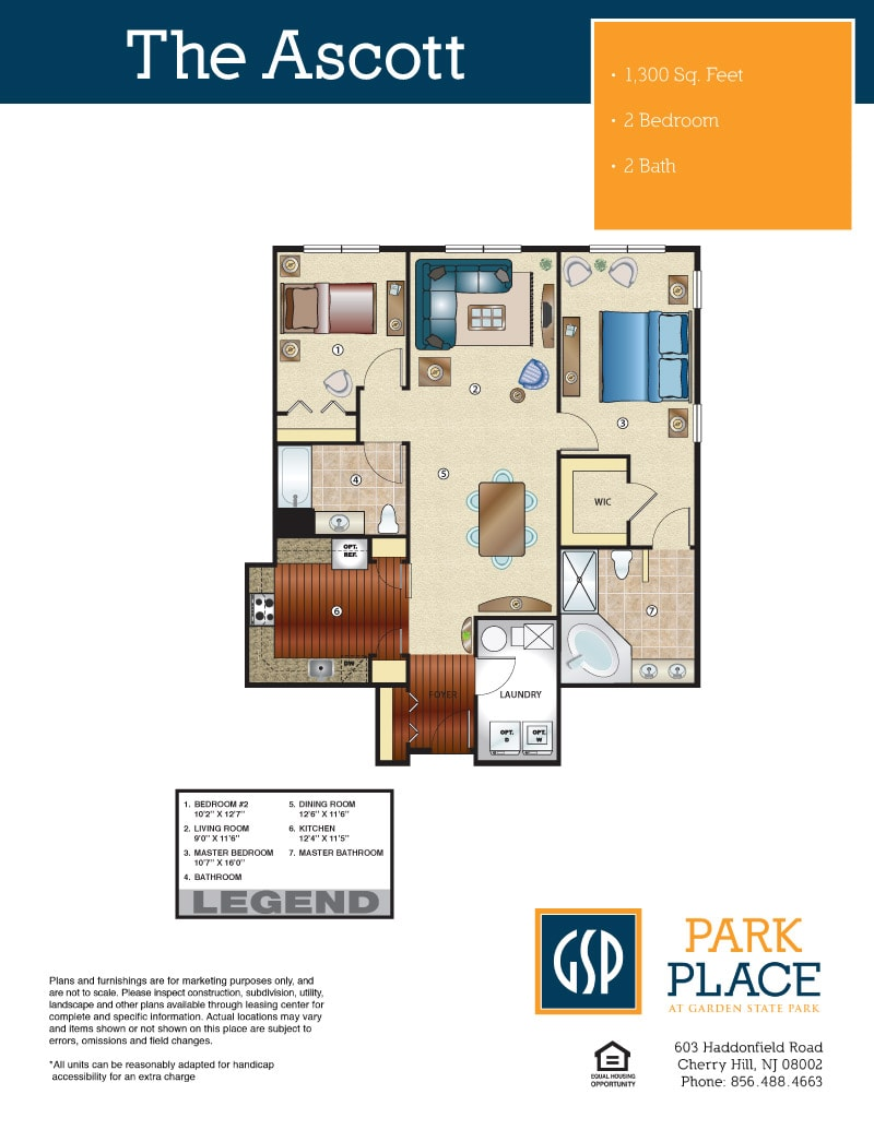 The Ascott Floor Plan