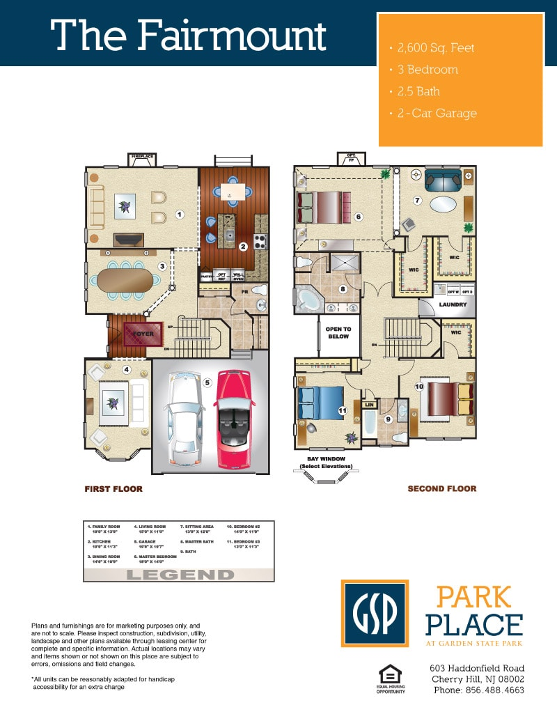 The Fairmount Floor Plan