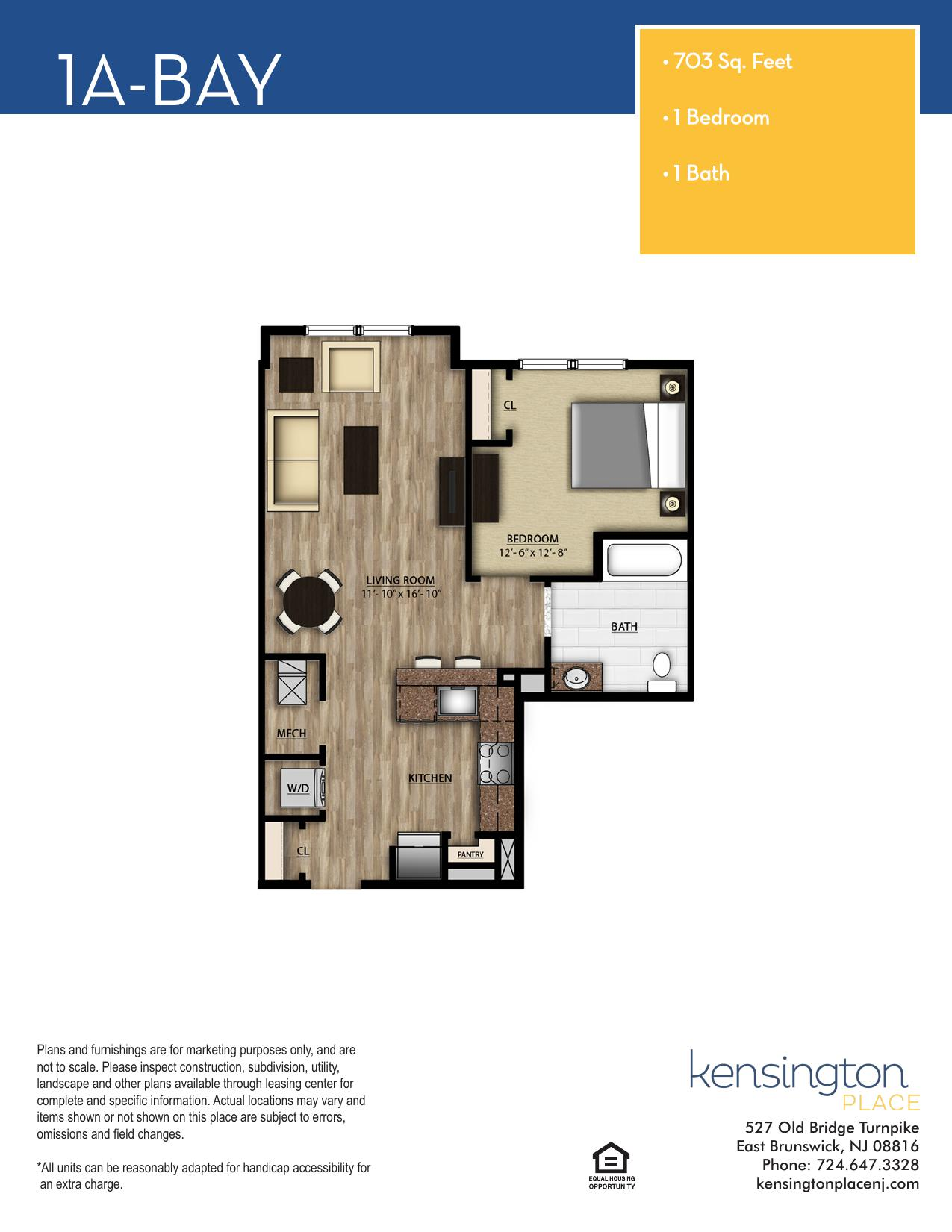 1A BAY Floor Plan