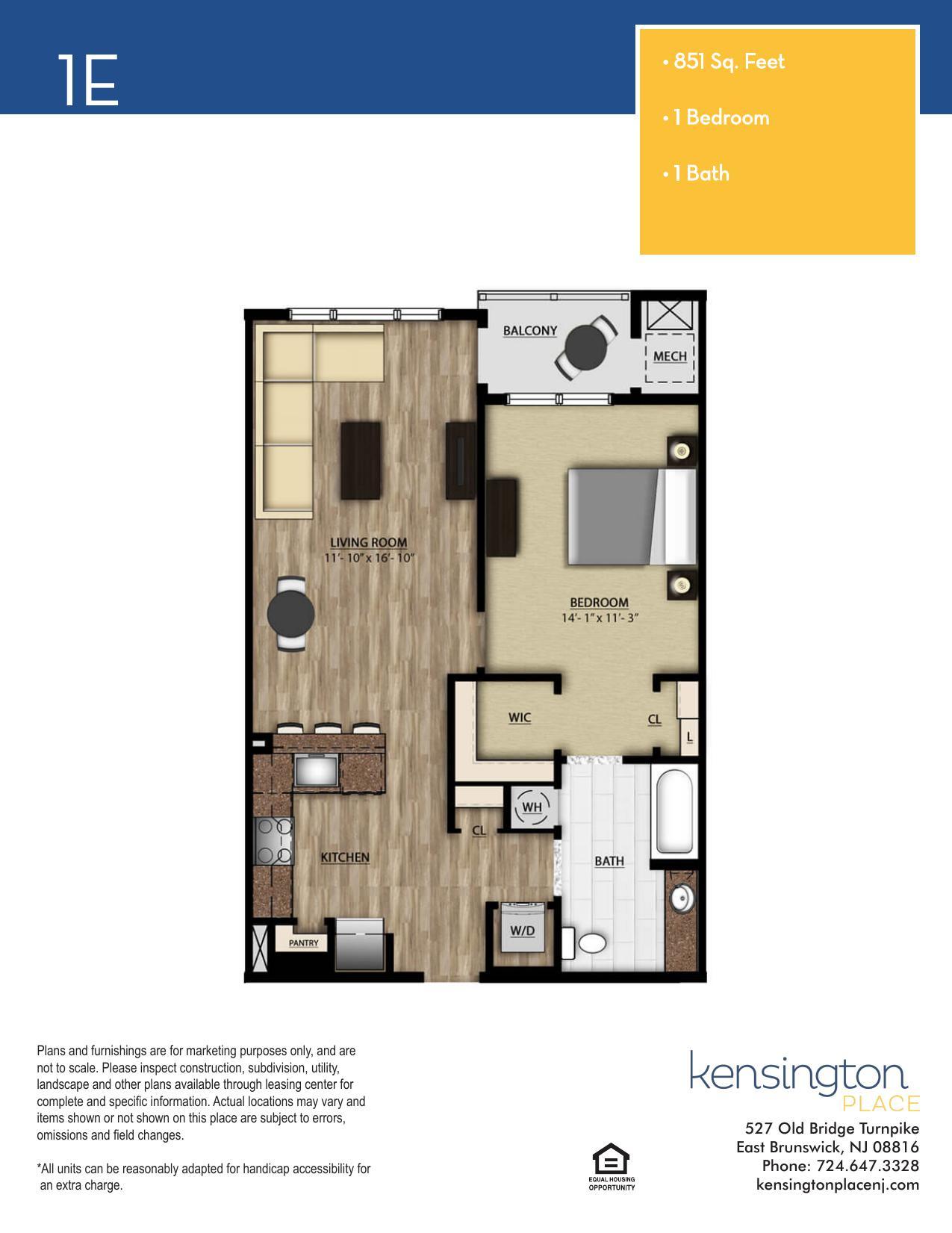 1E Floor Plan
