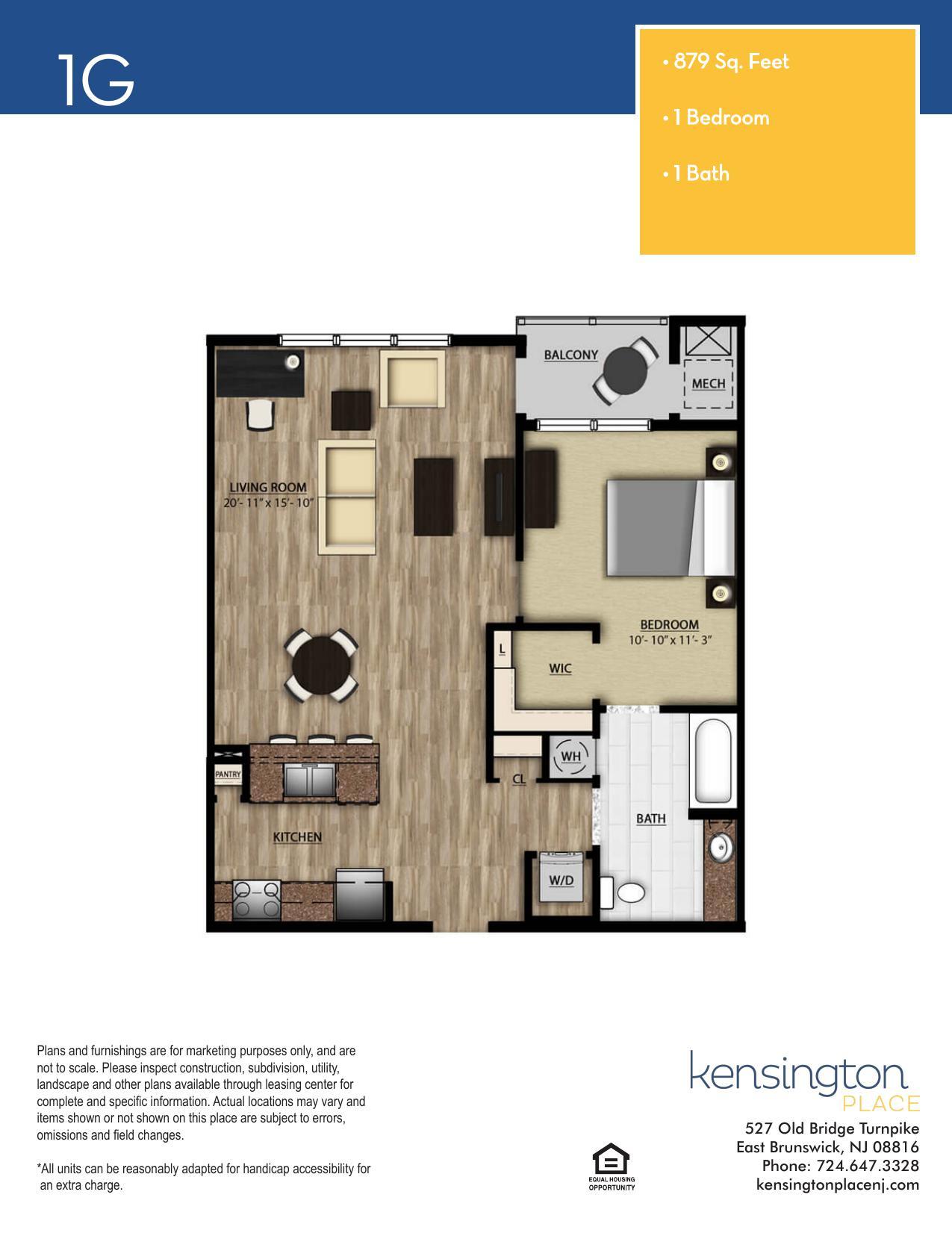 1G Floor Plan