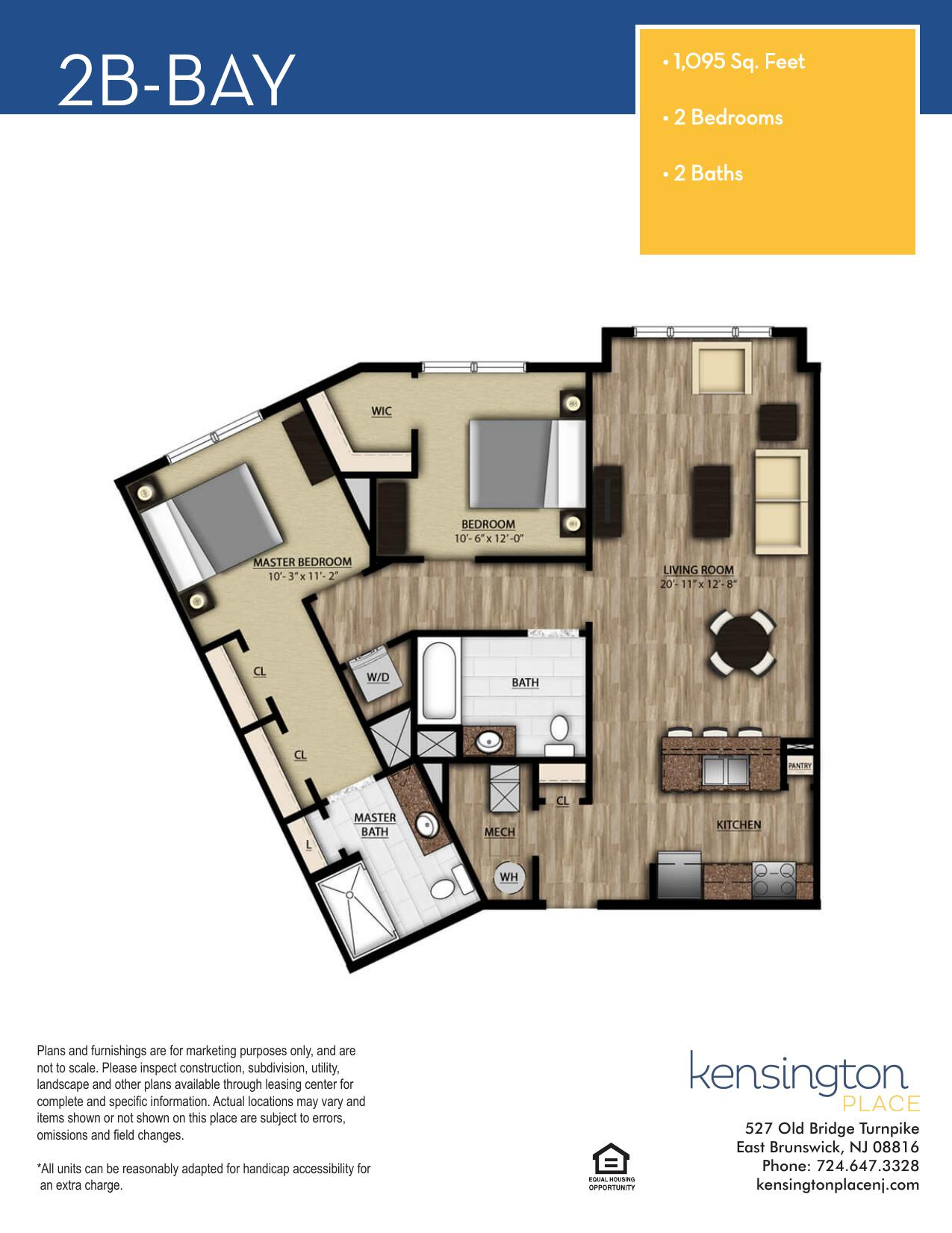 2B BAY Floor Plan