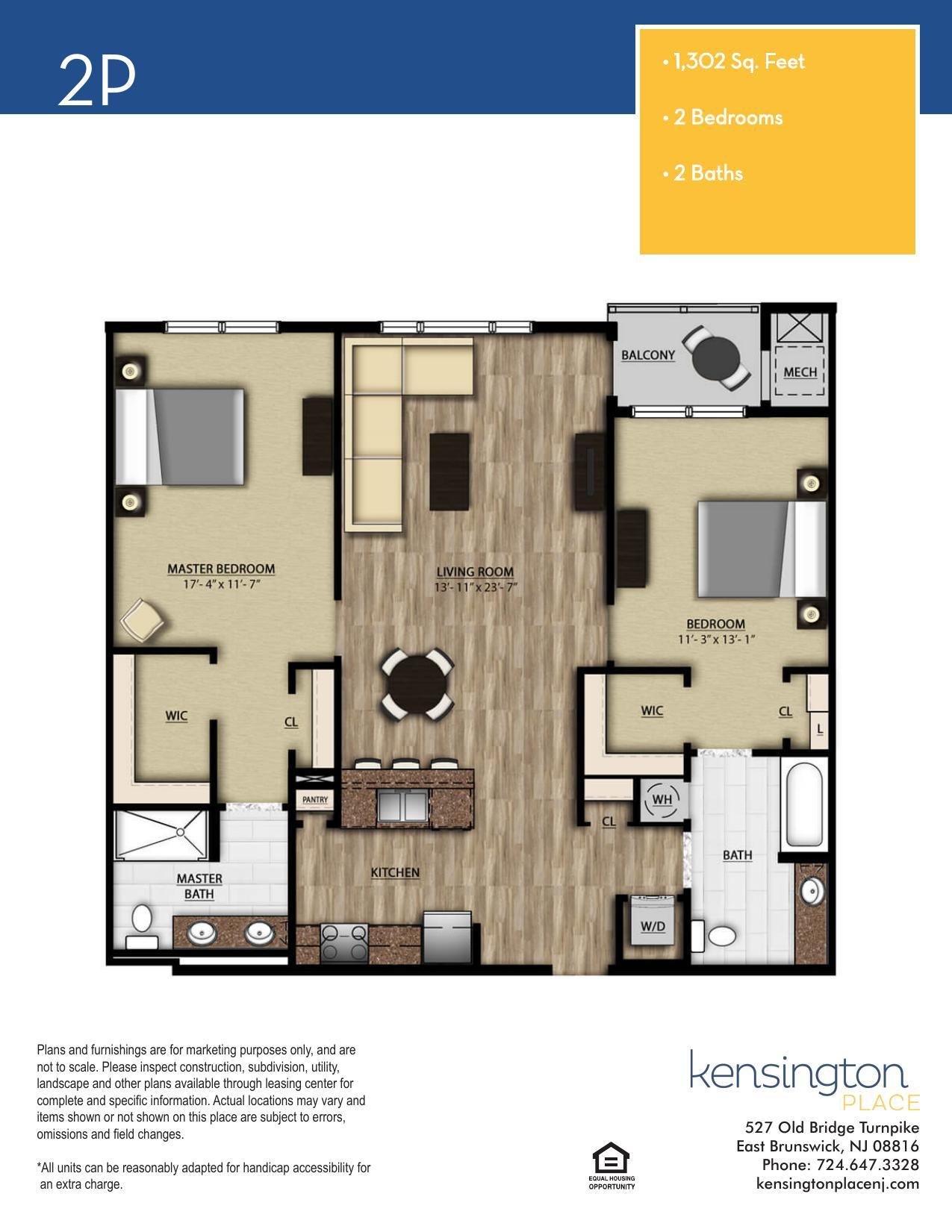 2P Floor Plan