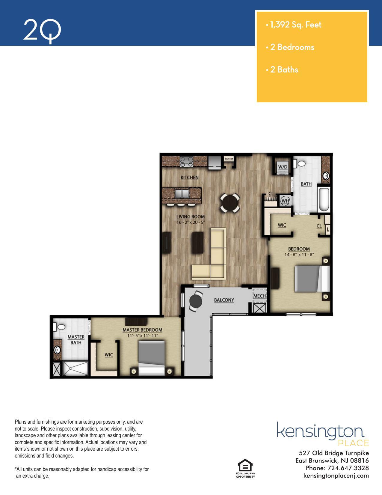 2Q Floor Plan