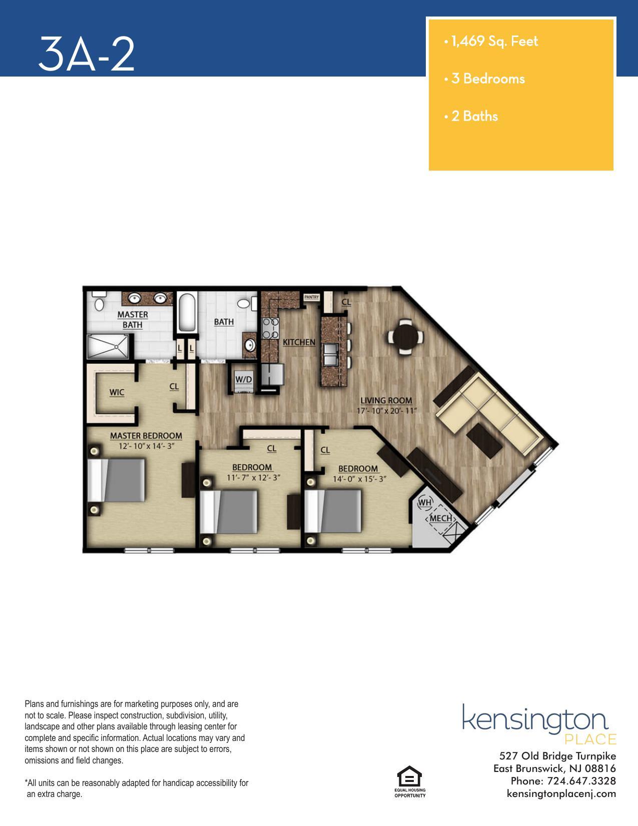 3A2 Floor Plan